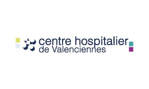 logo centre hospitalier de valencienne